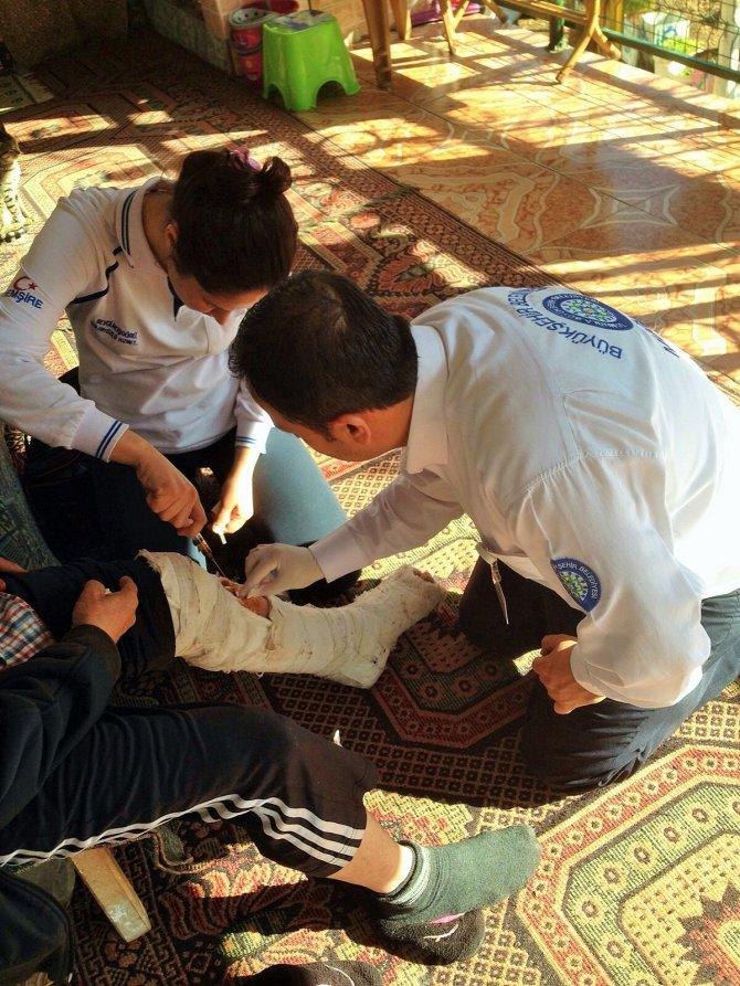 Muğla'da evde bakım hizmetlerinde 22 binden fazla tıbbi müdahale yapıldı