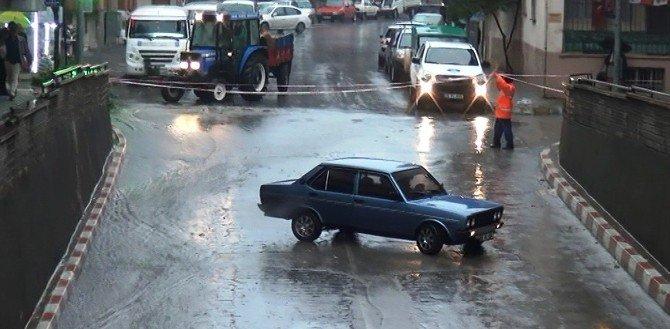 Şiddetli Yağmur Nazilli'yi Göle Çevirdi