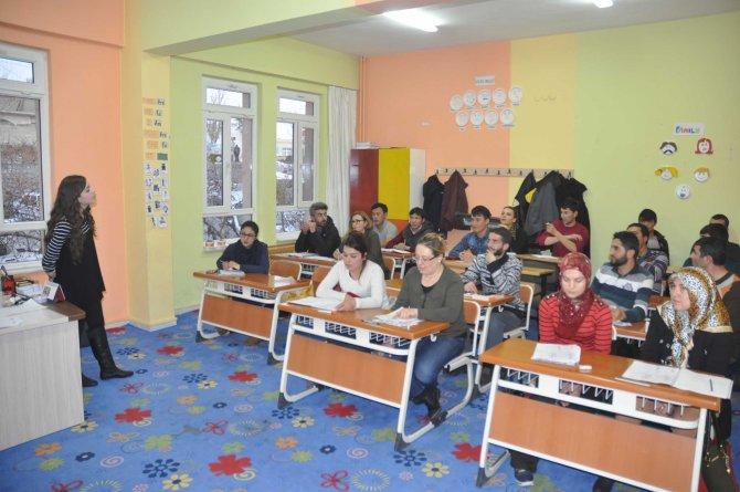Göreme'de esnafa yönelik İngilizce kursu açıldı