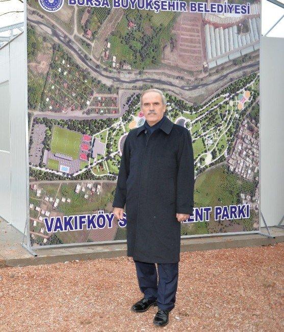 Büyükşehir'den Vakıfköy'e Spor Ve Kent Parkı