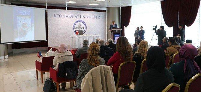 KTO Karatay Üniversitesi'nde Kitap Tanıtımı Ve İmza Günü