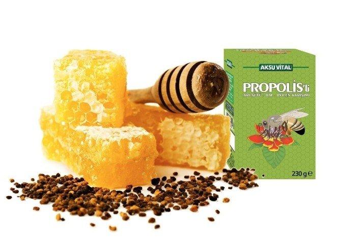 Arıların Doğal Antibiyotiği Propolis