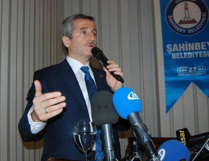 Şahinbey Belediye Başkanı Mehmet Tahmazoğlu 2015 Yılını Değerlendirdi