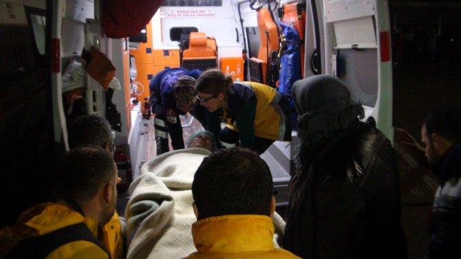 Oksijen borusu patladı, hastane boşaltıldı