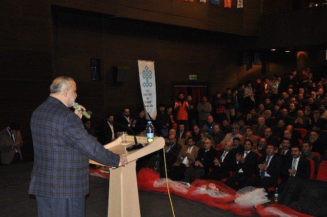 Şevki Yılmaz Kars'ta Konferans Verdi