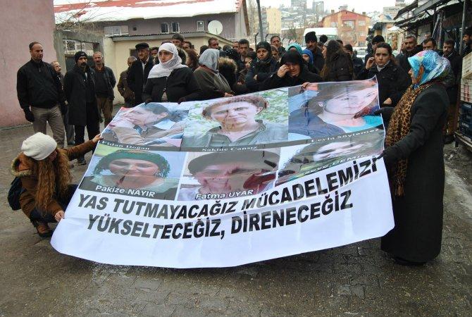 Silopi'de öldürülen kadınlar için açıklama