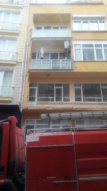 Sinop'ta Yangın Paniği