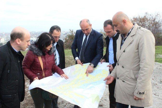 Başkan Togar, Kutlukent Bölgesinde Arazi Çalışması Yaptı