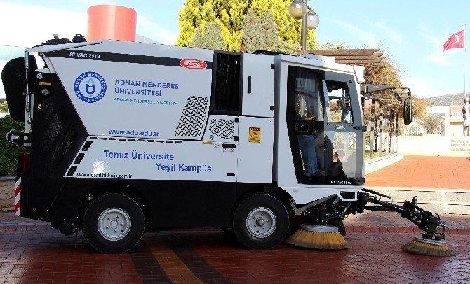 ADÜ'de Yeni Slogan 'Temiz Üniversite Yeşil Kampüs' Oldu