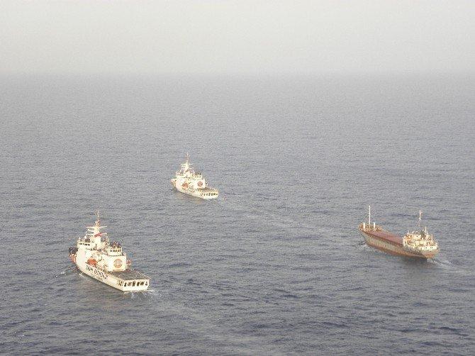 Uyuşturucu Gemisi Marmaris'e Getirildi