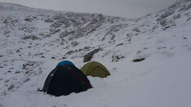 Uludağ'da -20 Derecede Kamp