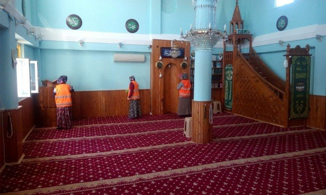 Ünye'de 2 Ayda 300 Cami Temizlendi