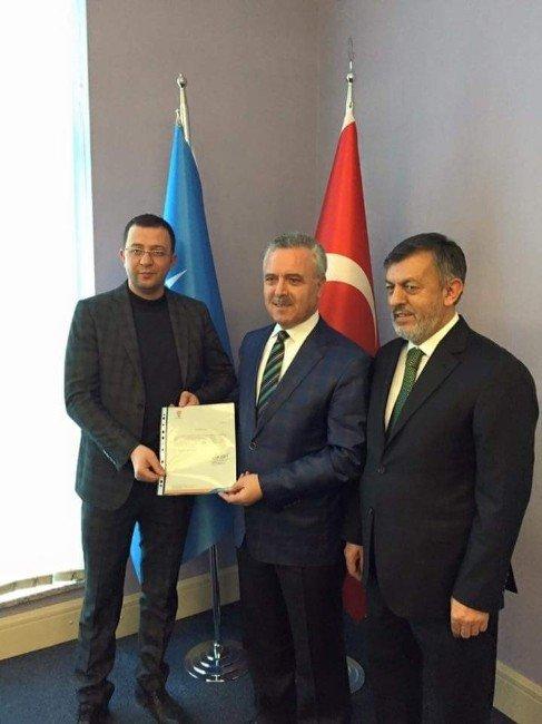 Dursunbey AK Parti İlçe Başkanı Değişti