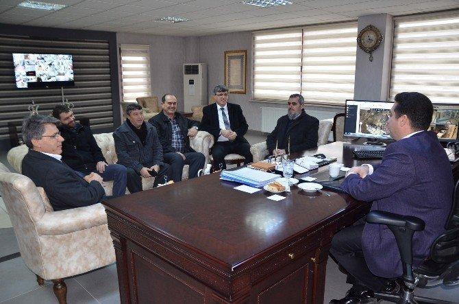Semerkand Derneği Başkan Bakıcı'yı Ziyaret Etti