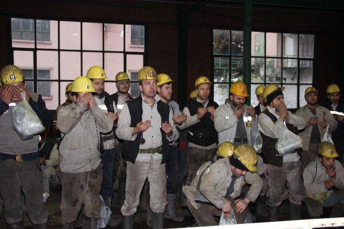 Maden Faciasında Ölen 8 İşçi Dualarla Anıldı