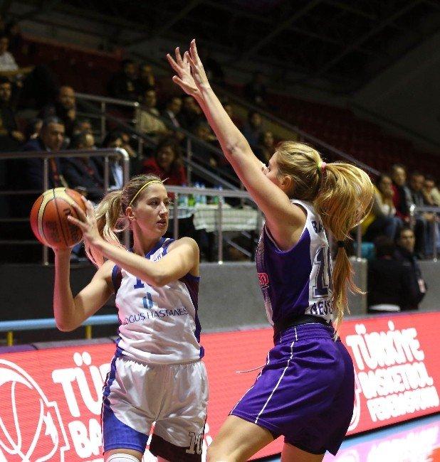 Tkbl Federasyon Kupası'nda İlk Finalist Mersin Basketbol Oldu