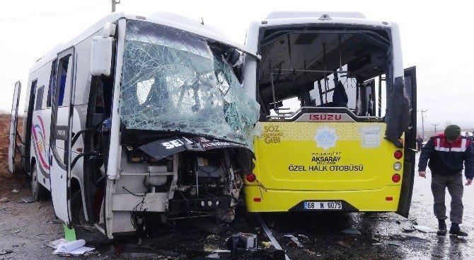Aksaray'da Kaza: 2 Ölü, 11 Yaralı