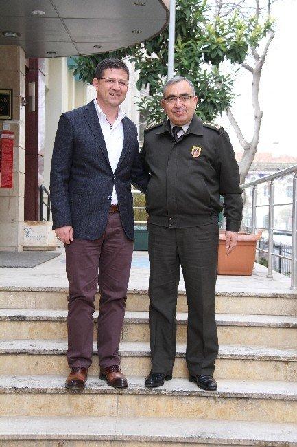 Albay Yıldız'dan Başkan Subaşıoğlu'na Ziyaret
