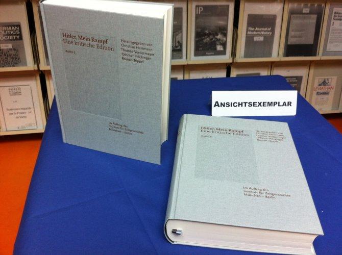 Hitler'in 'Kavgam' kitabı 70 yıl sonra yeniden satışa sunuldu