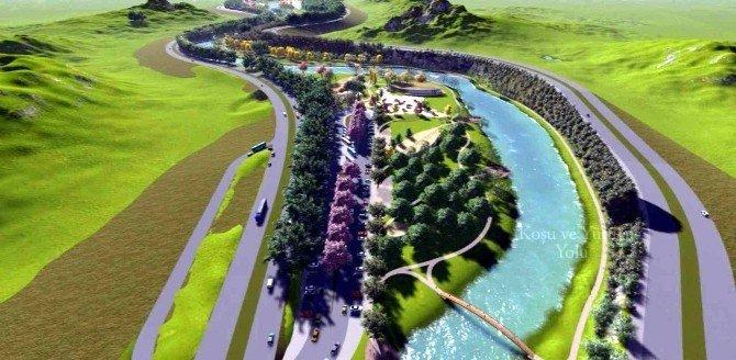 Anadolu'nun En Büyük Rekreasyon Alanı Yeşil Vadi, Yaza Tamamlanacak