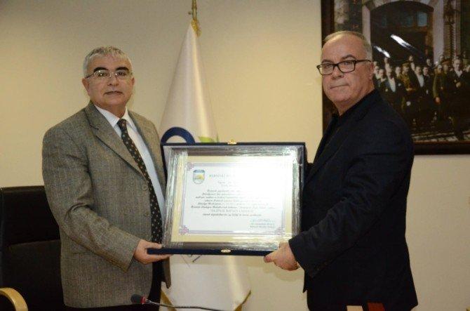 Başkan Hacı'dan, Çorlu Belediye Başkanı Baysan'a Teşekkür