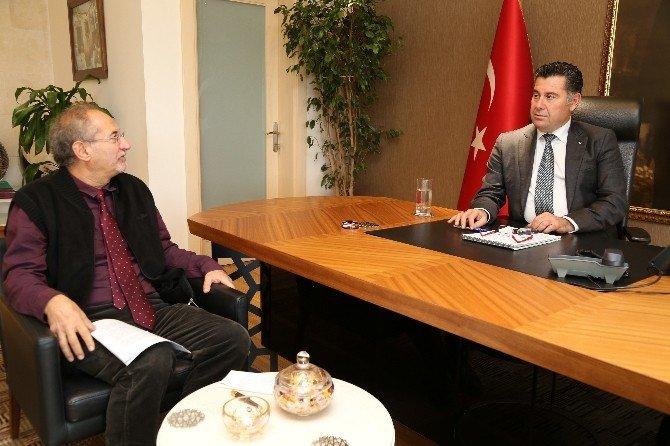 Diler'den Başkan Kocadon'a Ziyaret