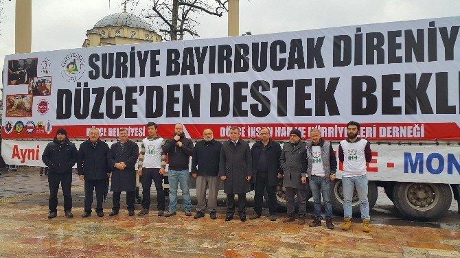 """Keskin, """"Bayırbucak'a Destek Hem İnsani Hem İslami Görevimiz"""""""