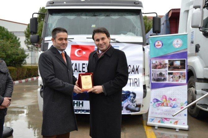 Biga'dan Bayırbucak Türkmenlerine Yardım