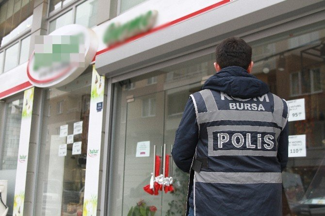 Bursa'da İhaleye Fesat Karıştırdıkları İddia Edilen Firmalara Operasyon