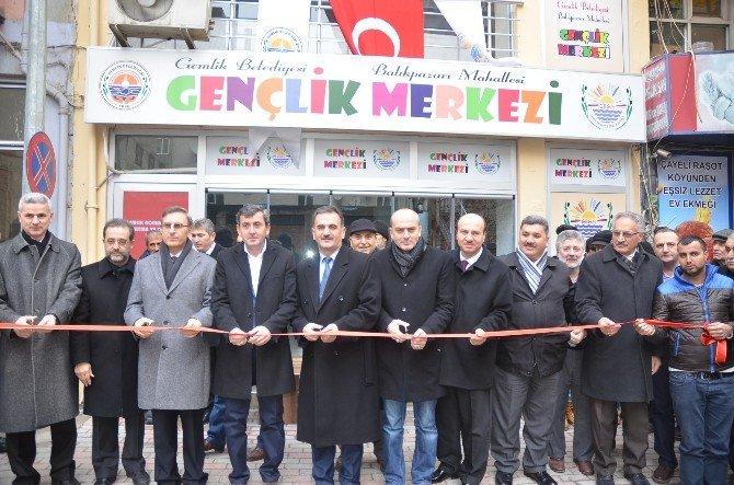 Balıkpazarı Gençlik Merkezi Açıldı
