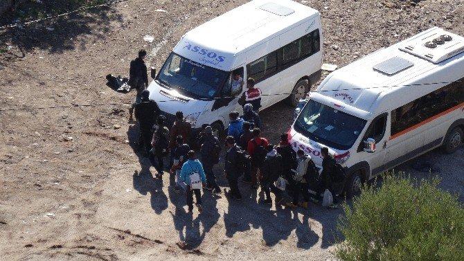 Çanakkale'de 186 Kaçak Göçmen Yakalandı