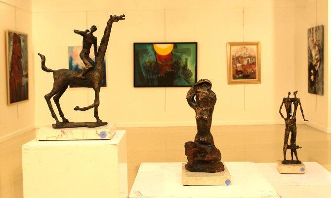Çankaya'nın galeri ve sanat merkezlerine 75 binden fazla ziyaretçi
