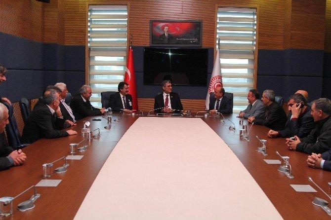 Başkan Kale'den Milletvekillerine Ziyaret