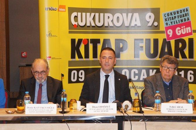 Yeni yılın ilk kitap fuarı Adana'da açılıyor