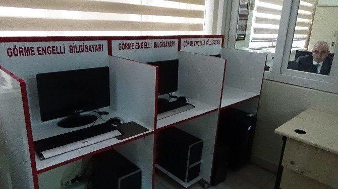 İnterneti En Fazla Kullanılan İkinci Kütüphane Ergani'de
