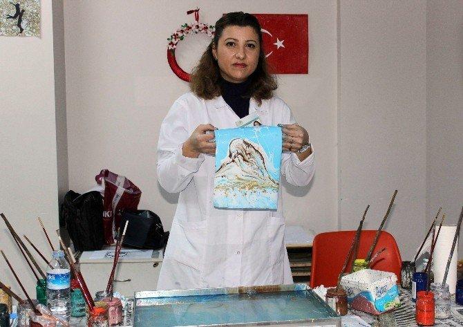 Ebru Sanatında Yeni Teknik
