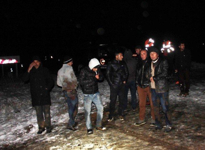 Elazığ'da Yolcu Otobüsü Devrildi: 26 Yaralı