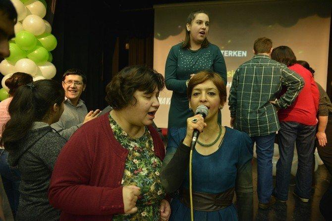 Engelli Bireylerin Başkan Ataç'la Yeni Yıl Kutlaması