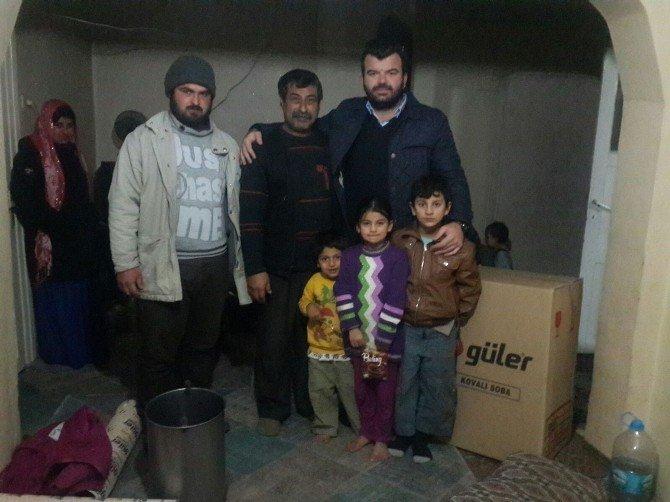 Elit'ten Suriyeli Aileye Yardım