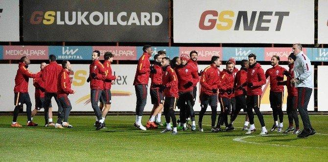 Galatasaray'da İkinci Yarı Hazırlıkları Sürüyor