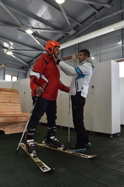 Ertansa, Halkı Kayakla Buluşturdu