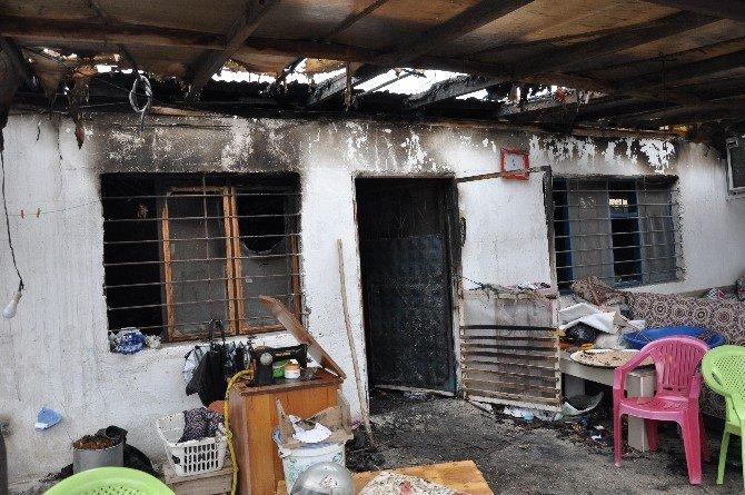 Yangında Çocuğunu Kaybeden Aileye Kadirli Kaymakamı Sahip Çıktı