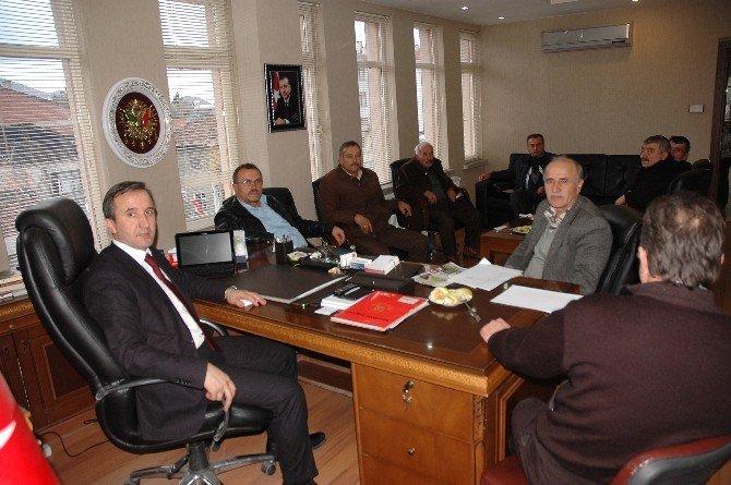Hanönü Belediyesi 2016' Nın İlk Meclis Toplantısını Yaptı