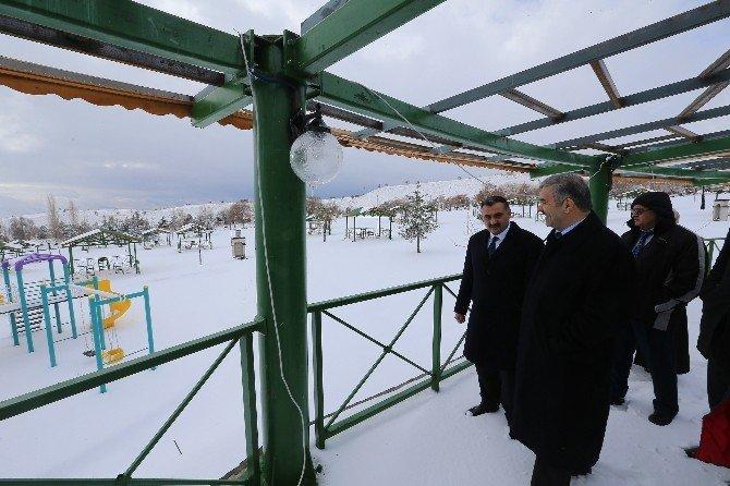 Başkan Çelik İlçe Ziyaretlerini Sürdürüyor