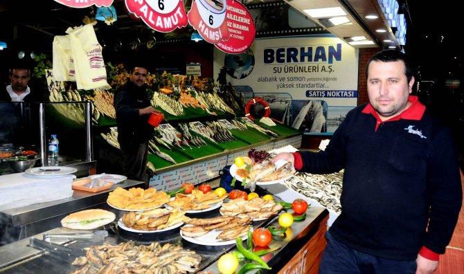 Havalar soğudu; tezgahlardaki balık çeşitleri ve satışları arttı