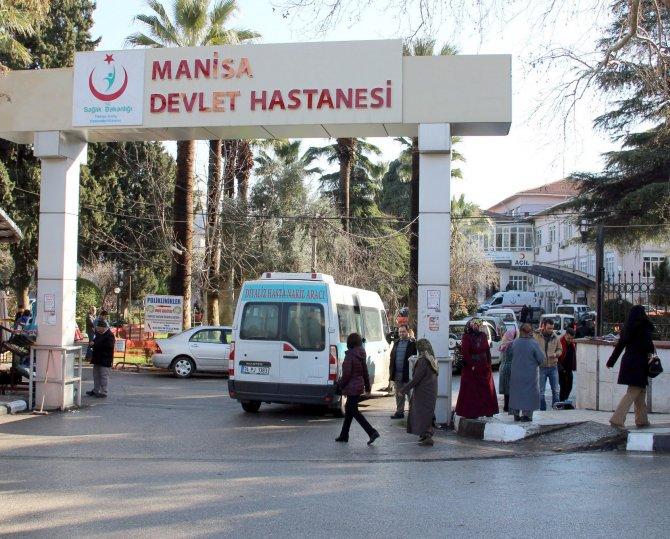 Manisa'da H1N1 virüsü şüphesiyle hastaneye kaldırılan kadın öldü