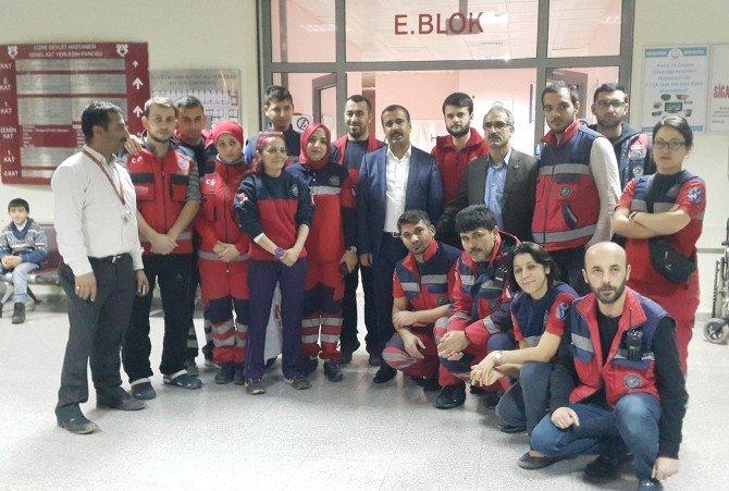 Sağlık-sen Genel Başkanı Memiş Mardin'de