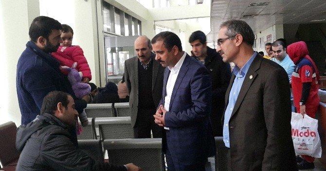 Sağlık-sen Başkanı Memiş, Cizre, Nusaybin Ve Mardin'deki Sağlık Çalışanlarını Ziyaret Etti
