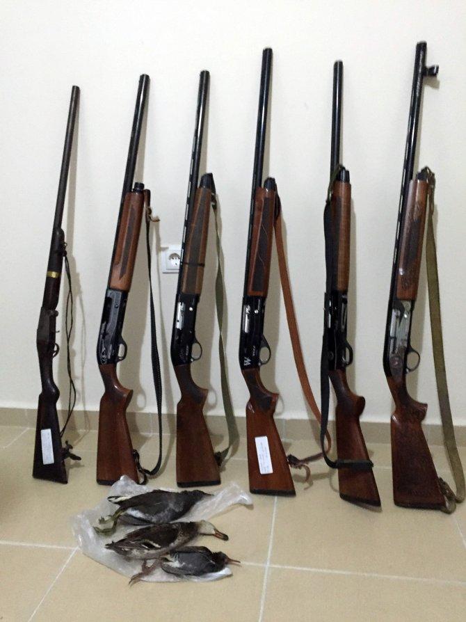 Muğla'da kaçak avcılara ceza yağdı