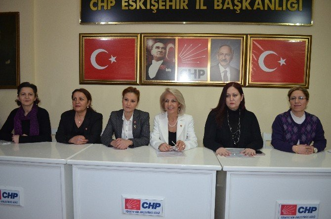 CHP İl Kadın Kolları Başkanlığı İçin 2 Aday